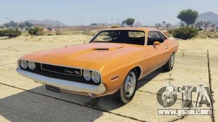 Dodge Challenger 70 para GTA 5