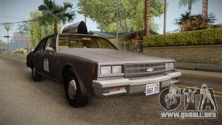 Chevrolet Impala Taxi 1985 para GTA San Andreas