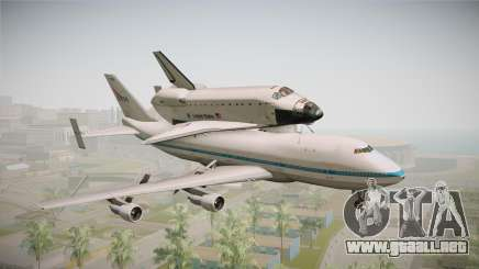 Boeing 747-100 Shuttle Carrier Aircraft para GTA San Andreas