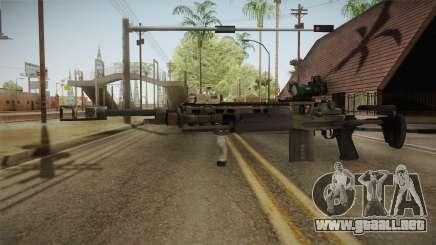 Battlefield 4 - M39 EMR para GTA San Andreas
