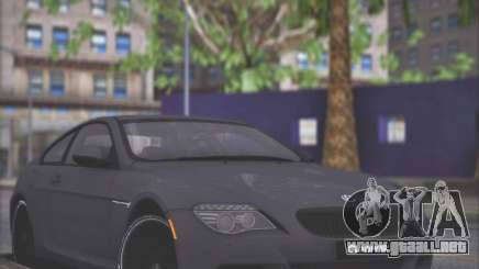 BMW M6 G-Power Hurricane RR para GTA San Andreas