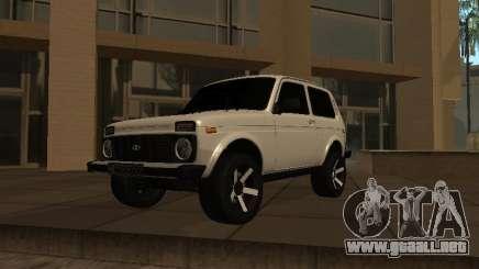 Niva 2121 Armenia para GTA San Andreas