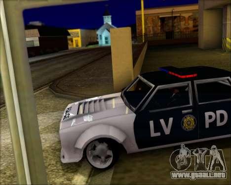 LVPD Drift Project para visión interna GTA San Andreas