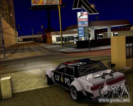 LVPD Drift Project para el motor de GTA San Andreas
