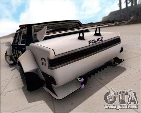 LVPD Drift Project para la vista superior GTA San Andreas