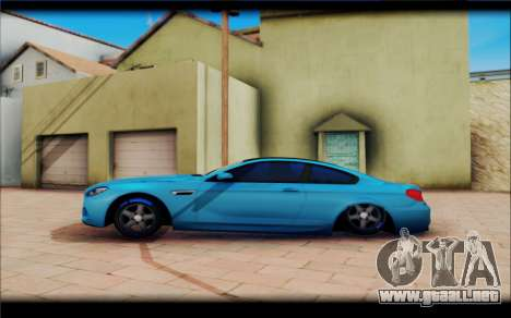 BMW M6 Stance para GTA San Andreas left