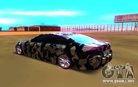BMW M5 para GTA San Andreas left