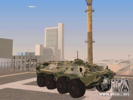 BTR-80 para visión interna GTA San Andreas