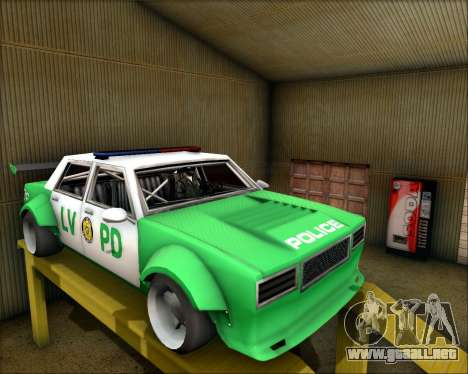 LVPD Drift Project para GTA San Andreas