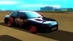 VAZ 2110 negro para GTA San Andreas