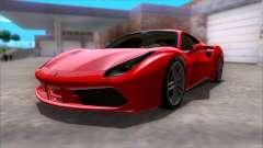 Ferrari 488 para GTA San Andreas