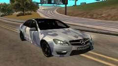 Mersedes-Benz C63 AMG para GTA San Andreas