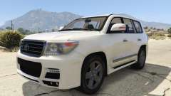 Toyota Land Cruiser 200 Zeus para GTA 5