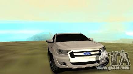 Ford Ranger 2017 para GTA San Andreas