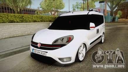Fiat Doblo 2017 para GTA San Andreas