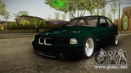 BMW 320i E36 BORBET para GTA San Andreas