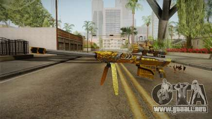 Cross Fire - M82A1 Born Beast Noble Gold para GTA San Andreas