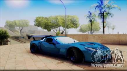 Chevrolet Corvett Z06 para GTA San Andreas