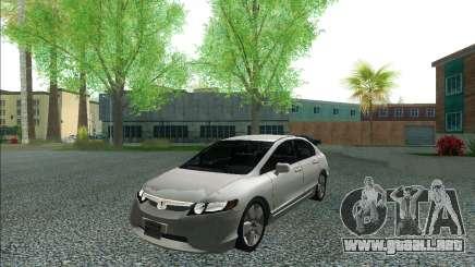 Honda Civic 2007 para GTA San Andreas