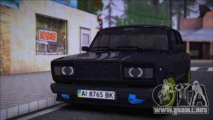 VAZ 2107 AMAG UA para GTA San Andreas