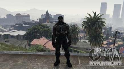 Crysis 2 NanoSuit Black para GTA 5