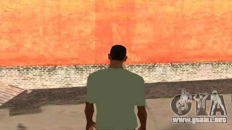 T-Shirt De Fallout para GTA San Andreas segunda pantalla
