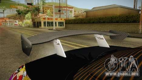 Nissan 200SX (S14) para visión interna GTA San Andreas