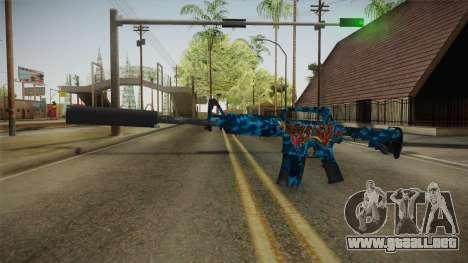 CS:GO - M4A1-S Masterpiece para GTA San Andreas