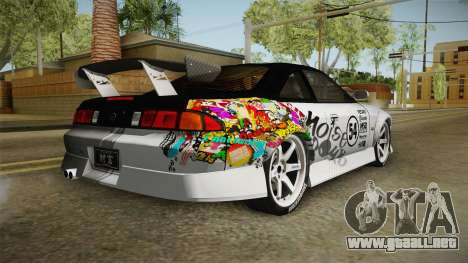 Nissan 200SX (S14) para GTA San Andreas left
