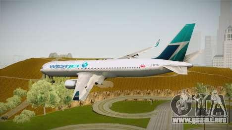 Boeing 767-338ER WestJet Airlines para GTA San Andreas