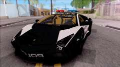 Lamborghini Reventon High Speed Police para GTA San Andreas