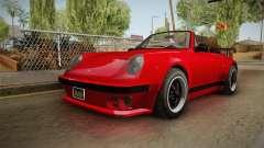 GTA 5 Pfister Comet Retro Cabrio IVF para GTA San Andreas