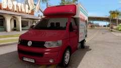 Volkswagen Transporter T5 Selidbe para GTA San Andreas
