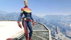 Captain Marvel (ANAD) para GTA 5