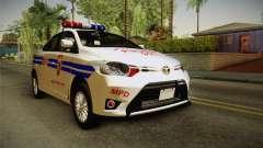 Toyota Vios 2014 Philippine National Police para GTA San Andreas