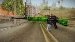 Green M4 para GTA San Andreas