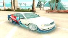 Nissan Silvia S15 Facelift Chaser Valvoline para GTA San Andreas