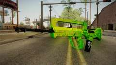 Green Weapon 2 para GTA San Andreas