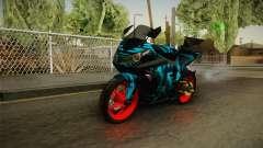 Kawasaki Ninja 250 FI Smoke Tech para GTA San Andreas