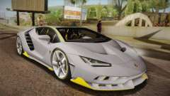 Lamborghini Centenario LP770-4 para GTA San Andreas