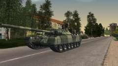 Tanque T-80UD para GTA San Andreas