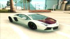 Lamborgini Aventador para GTA San Andreas