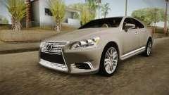 Lexus LS 460 Interior para GTA San Andreas
