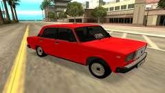 2107 rojo para GTA San Andreas