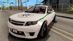 GTA V Cheval Fugitive Police Czech Old Style para GTA San Andreas