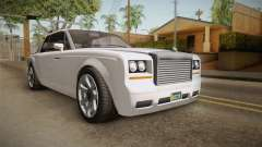 GTA 5 Enus Diamante Coupè para GTA San Andreas