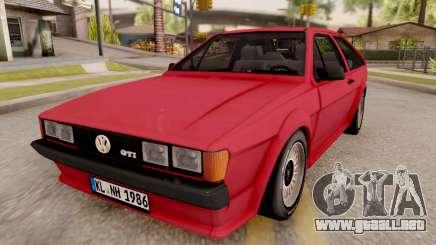 Volkswagen Scirocco Mk2 Stock para GTA San Andreas