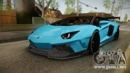 Lamborghini Aventador LP700-4 LB Walk v2 para GTA San Andreas