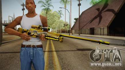 Cross Fire - AWM Infernal Oragon Noble Gold para GTA San Andreas