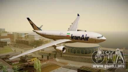 Airbus A330-200 IranAir para GTA San Andreas